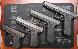 Documentazione sulla pistola per narrativa crime