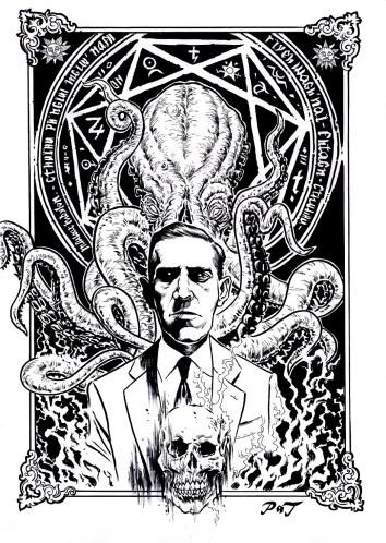 Lovecraft disegno