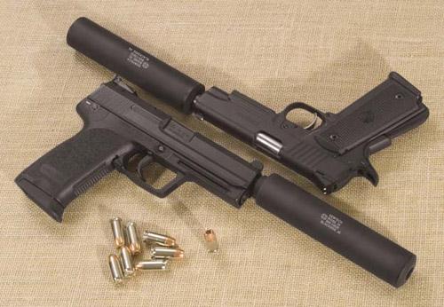 Pistole silenziate