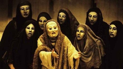 teatro greco attrici