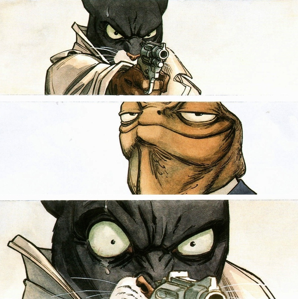 Blacksad is Pissed
