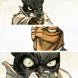 Blacksad: un gatto con l'impermeabile