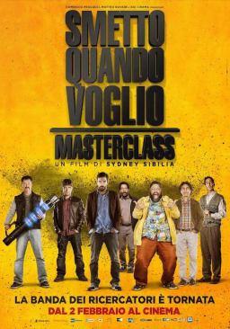 Smetto Quando Voglio Masterclass: la Banda dei Ricercatori è tornata.
