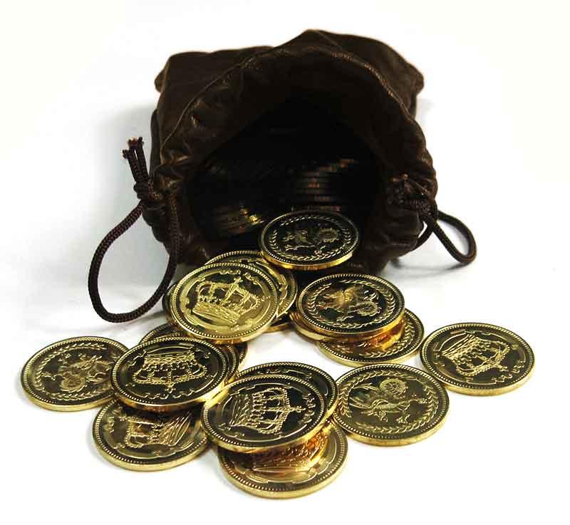 sacchetto monete