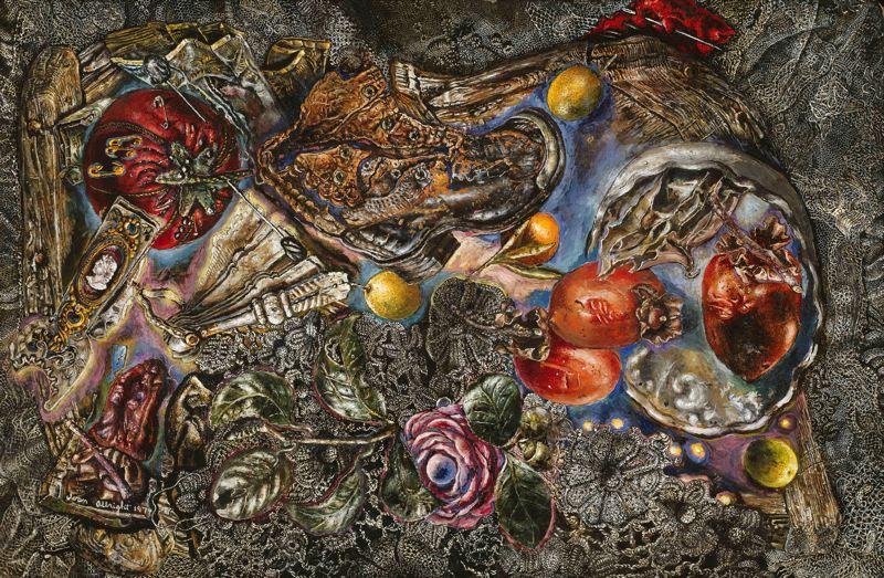 alberto della rossa - realismo magico - ivan albright