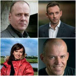 Giallo, noir e dintorni: I Fantastici Quattro del Giallo Islandese