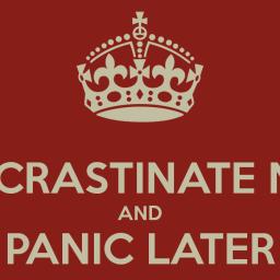 Procrastinazione e scrittura: cronaca di una morte annunciata
